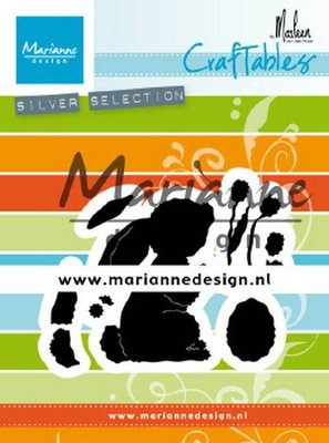 Marianne Design Craftable - Bunny by Marleen CR1498