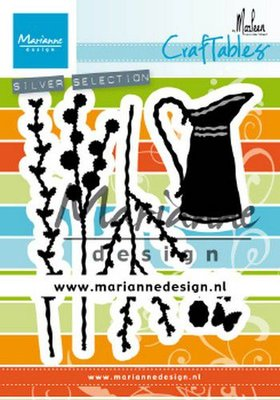 Marianne Design Craftable - Flower Jug by Marleen CR1499