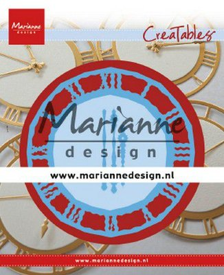 Marianne Design Creatable - Clock LR0636