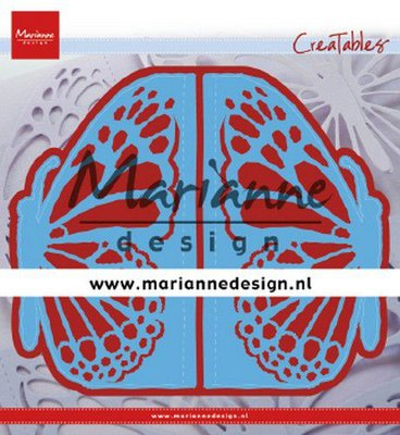 Marianne Design Creatable - Gate Folding Die Butterfly LR0638