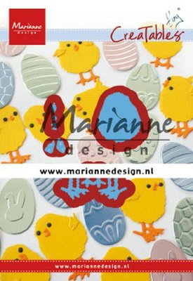 Marianne Design Creatable - Tiny's Easter Chick LR0644