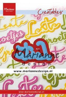 Marianne Design Creatable - Text: Lente LR0645
