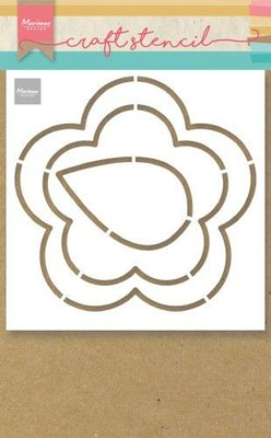 Marianne Design Craft Stencil - Buttercup PS8053