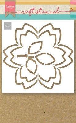 Marianne Design Craft Stencil - Blossom PS8054