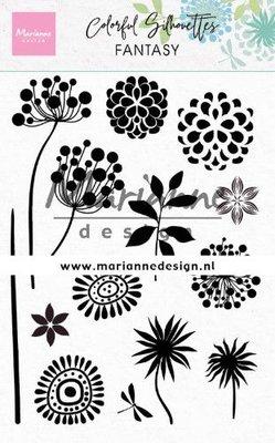 Marianne Design Stempel - Colourful Silhouettes: Fantasy CS1047
