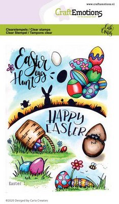 CraftEmotions Clearstamp A6 - Easter 1