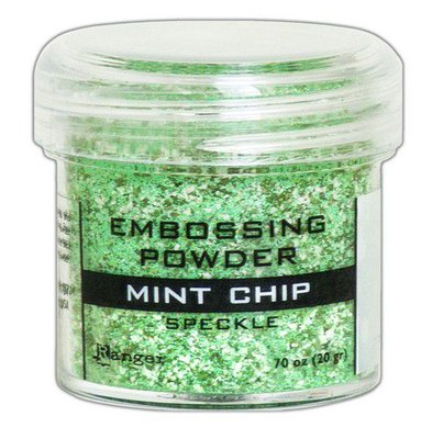 Ranger Embossing Poeder Speckle - Mint Chip EPJ68679
