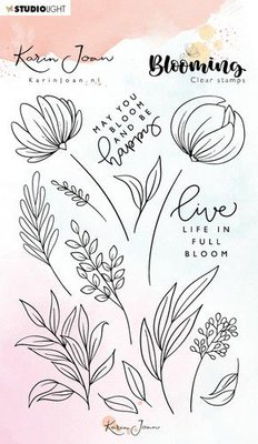 Studio Light Clearstamp A6 - Karin Joan Blooming Collection STAMPKJ04