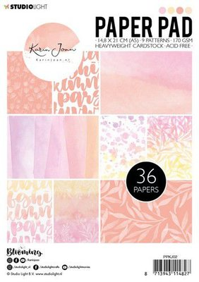 Studio Light Paper Pack A5 - Karin Joan Blooming Collection nr. 2