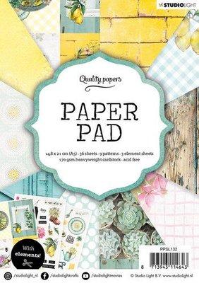 Studio Light Paper Pack A5 - Garden Nr. 132