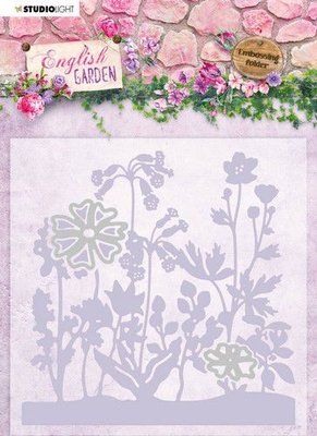 Studio Light Embossing Folder - English Garden no. 4