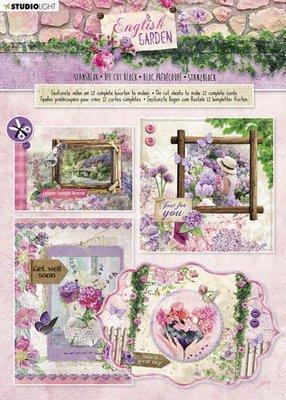 Studio Light Stansblok A4 - English Garden no. 90 (pre-order)