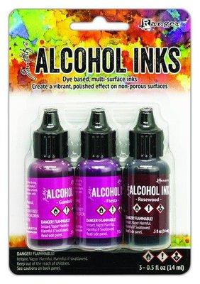 Ranger Alcohol Ink Kit - Pink/Red Spectrum TAK69638