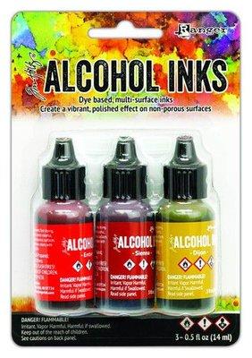 Ranger Alcohol Ink Kit - Orange/Yellow Spectrum TAK69645
