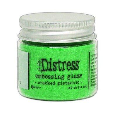 Ranger Distress Embossing Glaze - Cracked Pistachio TDE70962