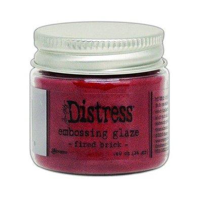 Ranger Distress Embossing Glaze - Fired Brick TDE70979