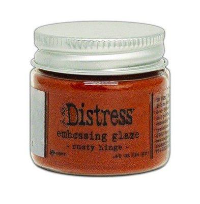 Ranger Distress Embossing Glaze - Rusty Hinge TDE71013