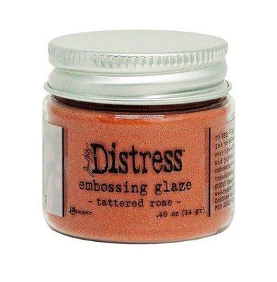 Ranger Distress Embossing Glaze - Tattered Rose TDE71020