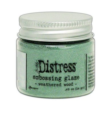 Ranger Distress Embossing Glaze - Weathered Wood TDE71051