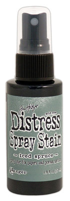 Ranger Distress Spray Stain - Iced Spruce TSS42327