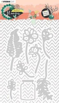 Studio Light Embossing Die - Sweet Flowers no. 246 (pre-order)