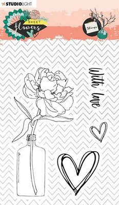 Studio Light Clearstamp A6 - Sweet Flowers no. 436