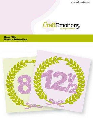CraftEmotions Die - Anniversary (pre-order)