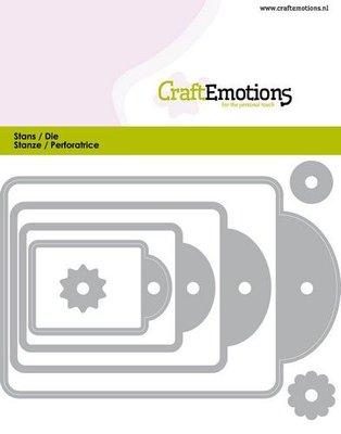 CraftEmotions Die - Labels (pre-order)