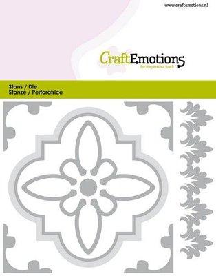CraftEmotions Die - Tile 1 (pre-order)
