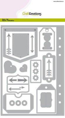 CraftEmotions Die - Planner Essentials (pre-order)