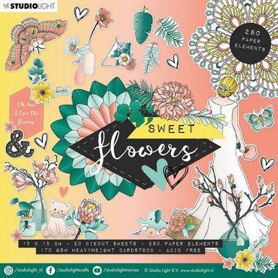 Studio Light Die Cut Book - Sweet Flowers no. 660