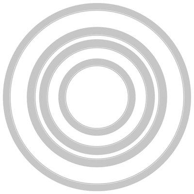 *Pre-order* Sizzix Framelits Die Set - Circles 663642