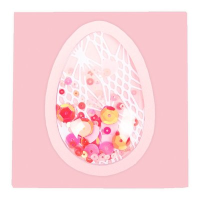 Sizzix Shaker Domes Egg/Balloon 664336