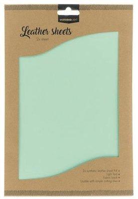 Studio Light Synthetic Leather Sheets no. 7 - Aqua