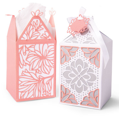 Sizzix Thinlits Die - Elegant Favor Box 663690