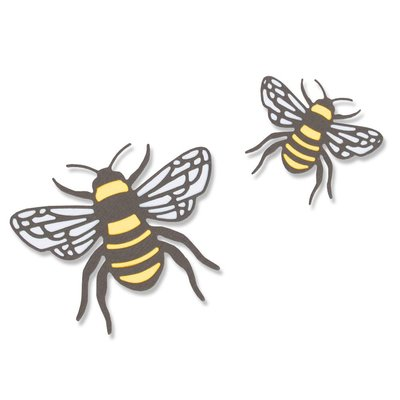 Sizzix Thinlits Die - Bee 663852