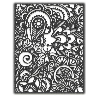 Sizzix Thinlits Die - Doodle Art #2 664432