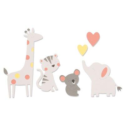 Sizzix Bigz Die - Zoo Friends 663863