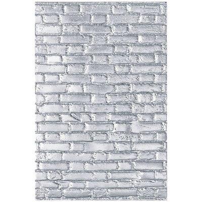 Sizzix 3-D Texture Fades Embossing Folder - Brickwork 664259