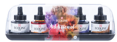 Talens Ecoline Vloeibare Waterverf 5 x 30 ml - Additional
