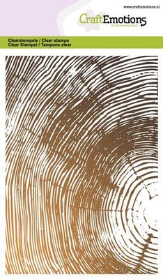 *Pre-order* CraftEmotions Clearstamp A6 - Tree Growth Rings
