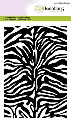 *Pre-order* CraftEmotions Clearstamp A6 - Zebra Print