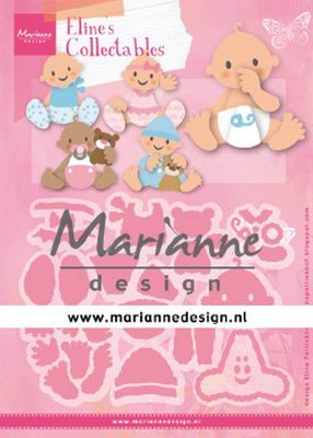 Marianne Design Collectable - Eline's Babies COL1479