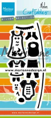 Marianne Design Craftable - Clothesline by Marleen CR1502