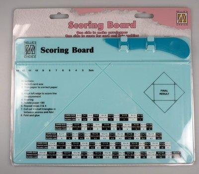Nellie's Choice Envelope Scoringboard NSCB001