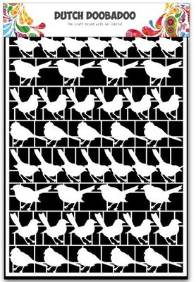 Dutch Doobadoo Paper Art - Birds 472.948.039