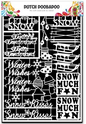 Dutch Doobadoo Paper Art - Winter 472.948.034