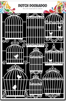 Dutch Doobadoo Paper Art - Birdcages 472.948.038