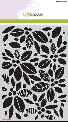 CraftEmotions Mask  - Achtergrond Bloemen