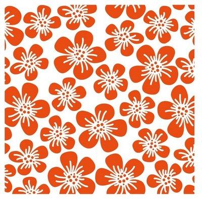 Marianne Design Embossing Folder  - Flowers DF3401